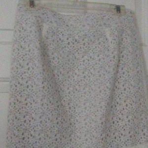 Ann Taylor LOFT ladies lace skirt